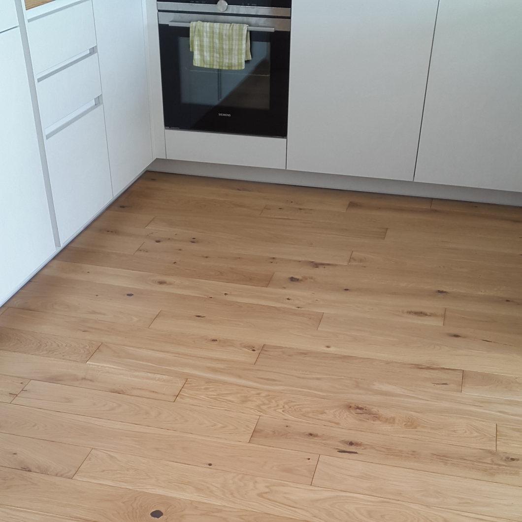 Amber Oak Osmo 3041 + Osmo 3032 Rustic 140 plotis